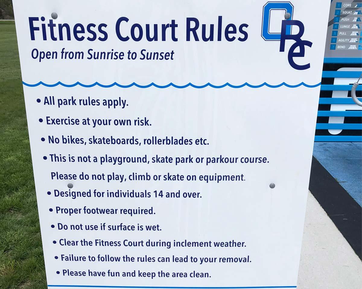 Fitness Court